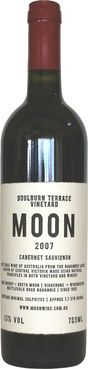 Moon Wines Caberney Sauvignon - Tried this wine at Monkey,http://www.monkey181.com.au/, interesting because it's Cabernet Sauvignon from Nagambie Lakes in Central Victoria. The wine was made in an open fermenter using traditional methods. It spent 23 months in French oak barriques, none less than 3 years old, allowing the wood to play a quite subtle role in the flavour profile. It is unfined and unfiltered. Biodynamic.