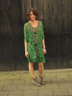 #isabel marant #green #dress
