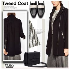 How To Wear Tweed coat Outfit Idea 2017 - Fashion Trends Ready To Wear For Plus Size, Curvy Women Over 20, 30, 40, 50