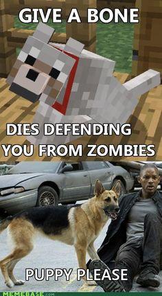 I Am Minecraft...