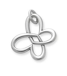 Linked Heart Butterfly | James Avery To match my earrings :)