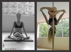 Pole Picture of the Day: Vertical Yoga - The Next Level with Aline Kerber ( Aline K...