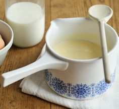 Real proper custard Try making Mary Berry's foolproof, homemade custard, perfect for puddings on chilly days Mary Berry, Custard Recipe Bbc, Custard Recipes, English Custard Recipe, Custard Sauce, Custard Ingredients, Crumble Recipe, Recipe Ingredients, Pudding Recipes