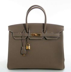 7fdd4fd3c4 Well crafted shade of gray   brown Hermes Birkin Hermes Birkin