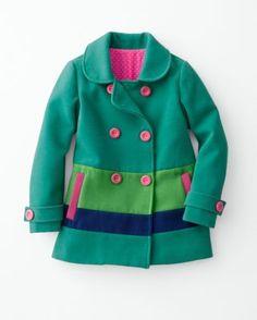 Jubilee Pea Coat - Garnet Hill Kids  #backtoschool