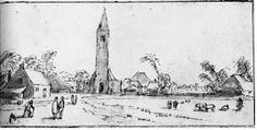 Chapter 4. Esaias van de Velde, Spaarnewoude, ca. 1615. Pen, brown ink, and wash over traces of black chalk, 8.7 x 17.8 cm. Rijksmuseum, Amsterdam.