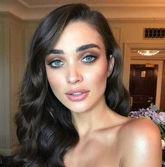 Amy Jackson M.U by @nikki_makeup