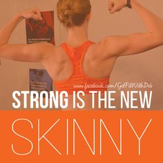 Strong is the new skinny! :) Hard work and dedication can take you farther then you thought was possible! My journey through T25 has change my body for the better :) I feel good and most importantly I feel stronger!
