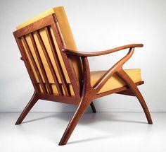 Mid Century Modern Italian Chair