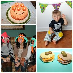 My Own Road: Little Monster 1st birthday party