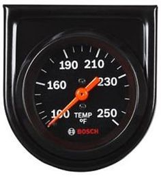 a bosch fst8217 style line 2 mechanical water oil temp gauge temperature  new electrical layout,