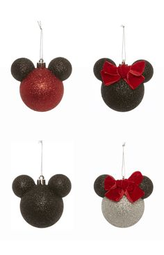 Primark - 4PK Disney Mickey Minnie Baubles
