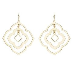 Kendra Scott Darenda Earrings in Gold - Item 19406248 | Jewelers Wife