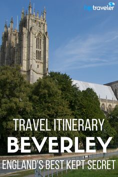 The adorable town of Beverley is truly one of England's best kept secrets. Just a 15 minute train ride from Hull, this off the beaten path town in England shouldn't be missed on a trip to the United Kingdom. | Blog by HipTraveler: Bookable Travel Stories