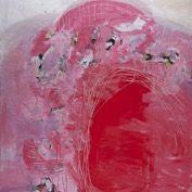 Pink Mountain, Painting by Marita Liulia