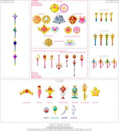 Sailor Moon items. I remember less than half of these - the originals ;)