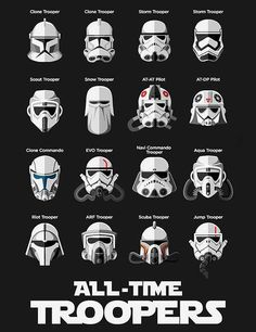 All-Time #troopers #StarWars / TechNews24h.com