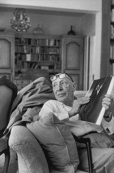 Igor Stravinsky, 1967.