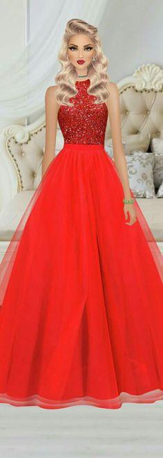 Diva Fashion, Fashion Games, Covet Fashion, Fashion Art, Fashion Looks, Fashion Design, Womens Fashion, Lovely Dresses, Formal Dresses