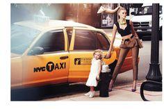 Alexi Lubomirski Vogue Russia Baby on Board