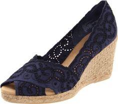 Amazon.com: White Mt. Womens Mandarin Espadrille Pump: Shoes