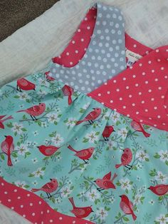 Check out this item in my Etsy shop https://www.etsy.com/listing/290381595/girls-toddler-summer-dress-little-bird