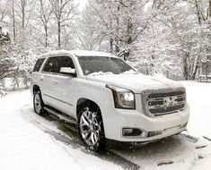Beautiful Snow Bunny White Yukon Denali Suv Trucks, Suv Cars, Pickup Trucks, Buick Gmc, Chevrolet, Yukon Denali, Car Goals, Cars And Motorcycles, Luxury Cars