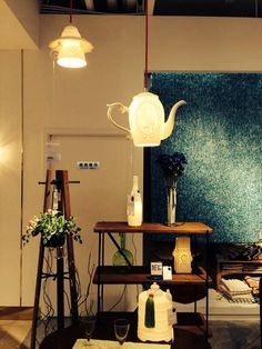 Light up the mood and set an ambience you desire by these ceramic hanging lamps...  www.topchoice.com.hk