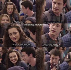 Clay Jensen and Hannah Baker - 13 Reasons Why