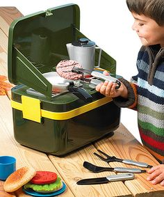 Take a look at this Grill-And-Go Camp Stove Set by Educational Insights on #zulily today!