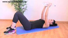 Rutina de ejercicios de tríceps y pecho.