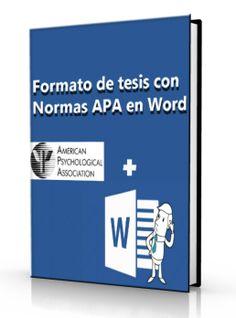 Formato de tesis con las Normas APA es La Palabra – DOC . [e-Book] Bogotá Universidad Distrital, Texto completo El formato APA Tiene Su origen es El año 1929, CUANDO UN…