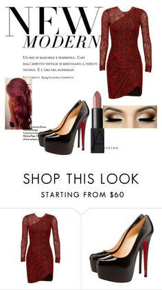 """""""Untitled #141"""" by freespirit1177 ❤ liked on Polyvore featuring Parker, Christian Louboutin, NARS Cosmetics, women's clothing, women's fashion, women, female, woman, misses and juniors"""