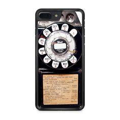 Retro Public Rotary Dial Payphone iPhone 7 Plus case – Case Persona