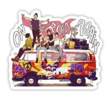 On the road again Sticker