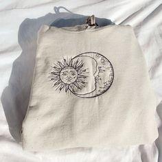 Advanced Embroidery, Vans, Black Thread, Shirt Embroidery, Sun Moon, Cute Outfits, Art Hoe, Junk Drawer, Hoodies