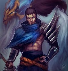 """Death is like the wind; always by my side."" -Yasuo"