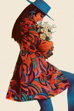 Marisa Berenson photographed by Gianni Penati, August 1967, Vogue.