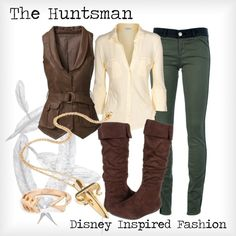 """""""The Huntsman - from Disney's Snow White and the Seven Dwarfs"""" by elliekayba on Polyvore"""