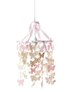 Butterfly Chandelier for Treatment Room