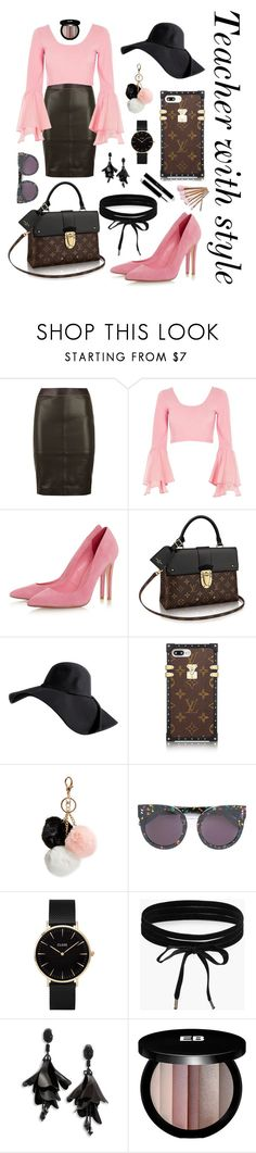 """""""Teacher with style"""" by the-pink-poppy on Polyvore featuring Reiss, River Island, GUESS, STELLA McCARTNEY, CLUSE, Boohoo, Oscar de la Renta and Edward Bess"""