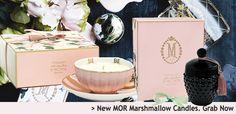 NEW MOR Marshmallow Soy Candles | Australian