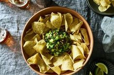 New ways to upgrade Roberto Santibañez's genius guacamole recipe, including charring the chile and adding tequila-soaked apples and toasted pecans. Guacamole Recipe, Five Ingredients, Avocado Recipes, Mexican Food Recipes, Vegetarian Recipes, Ethnic Recipes, Tequila, Recipe Directions, Fiesta Party