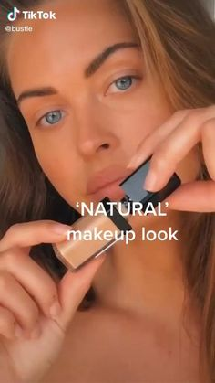 Natural Makeup Look Tutorial, Makeup Looks Tutorial, Natural Makeup Looks, Natural Looks, Makeup Tutorial Videos, Makeup Pictorial, Maquillage On Fleek, Natural Everyday Makeup, Natural School Makeup