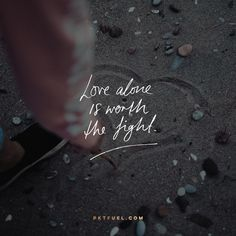 So how do you fight for love but keep hate at bay? <<CLICK THE IMAGE TO KEEP READING THE DEVOTION>>