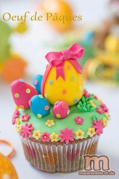 Petites décorations de Pâques en pâte à sucre ou pâte d\u0027amande ,  Macaronette et
