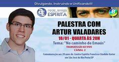 CEFCX - Palestra com Artur Valadares em São José do Rio Preto - SP (on-line) - http://www.agendaespiritabrasil.com.br/2017/01/18/cefcx-palestra-com-artur-valadares-em-sao-jose-do-rio-preto-sp-on-line/