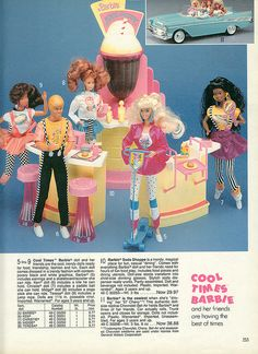 1989-xx-xx Sears Christmas Catalog P253 by Wishbook, via Flickr - none of the dolls, but I had the shoppe