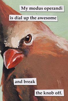 Troubled Birds by Mincing Mockingbird