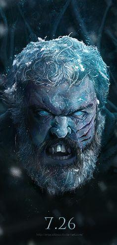 Hodor by Ertaç Altınöz. I am not at all prepared for this emotionally. RIP, Hodor.